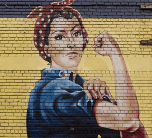Feminismus Streetart
