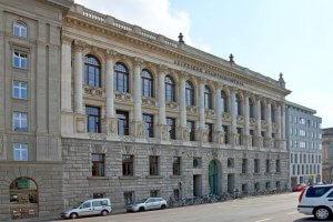 Leipziger Stadtbibliothek - Außenansicht