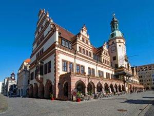 Altes Rathaus Leipzig Marktplatz