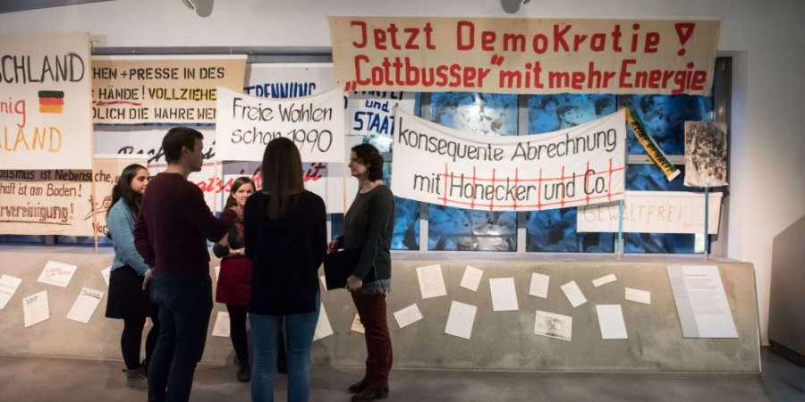 Zeitgeschichtliches Forum Leipzig Dauerausstellung