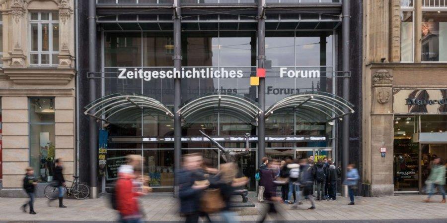 Zeitgeschichtliches Forum Leipzig Außenansicht
